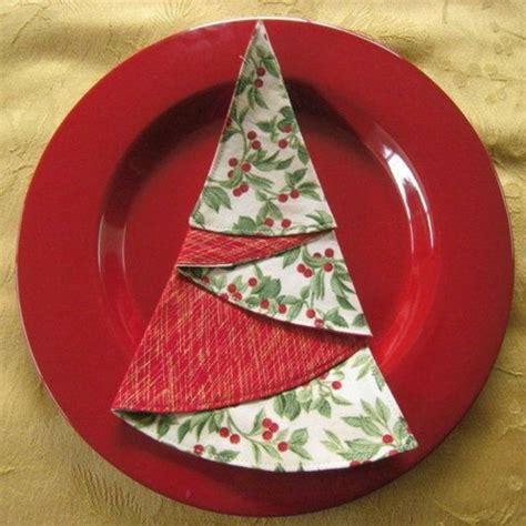 servietten falten weihnachten deko ideen archzine net