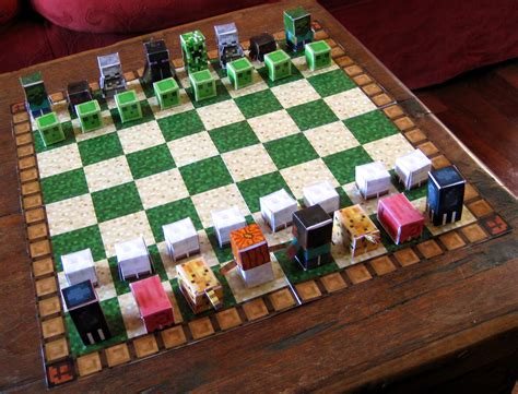 Minecraft Papercraft Chess - file papercraft minecraft 9582373700 jpg wikimedia commons