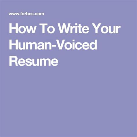 Human Voiced Resume by 1000 Ideas About Human Voice On