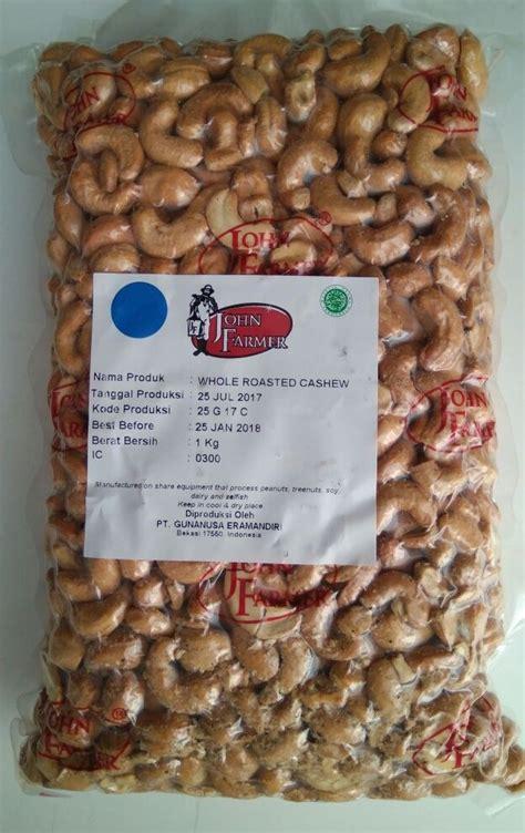 Roasted Premium Mix Nuts 1kg Cemilan Sehat Kacang farmer roasted cashew nut premium kacang mete panggang 500 gr jual makanan diet sehat