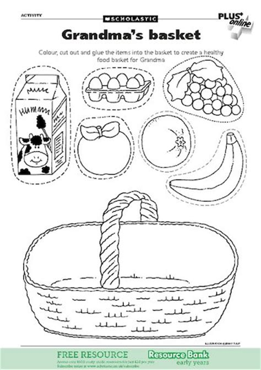 Bear Toilet Paper Holder grandma s basket free early years teaching resource