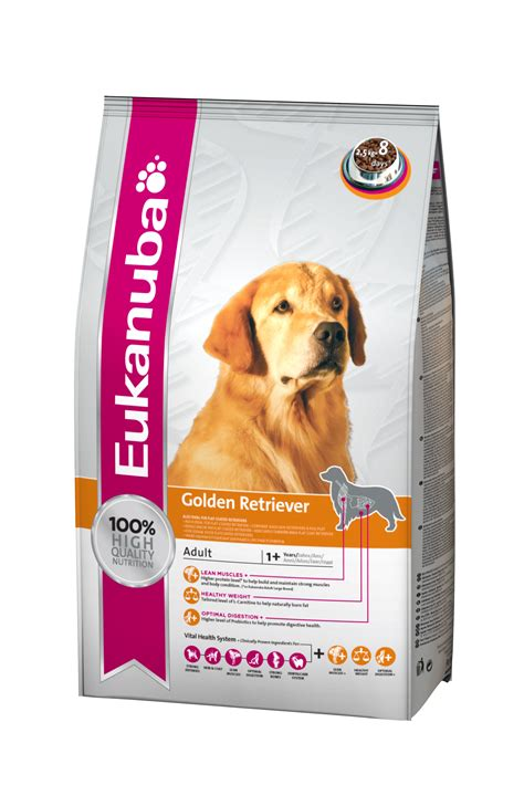 food for golden retriever eukanuba food golden retriever 2 5 kg dogspot