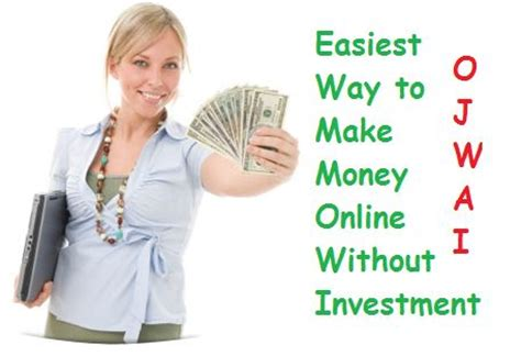 How To Make Money Online No Investment - easiest way to earn money from online
