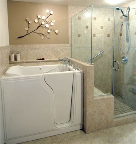 Walk In Bathtub With Shower by Walk In Bathtub In Suite Ideas