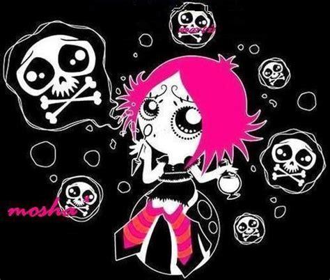 imagenes de emo muertos chica emo con calaveras imagenes y carteles