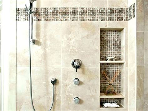 pictures of shower niches tile shower niche ideas tile