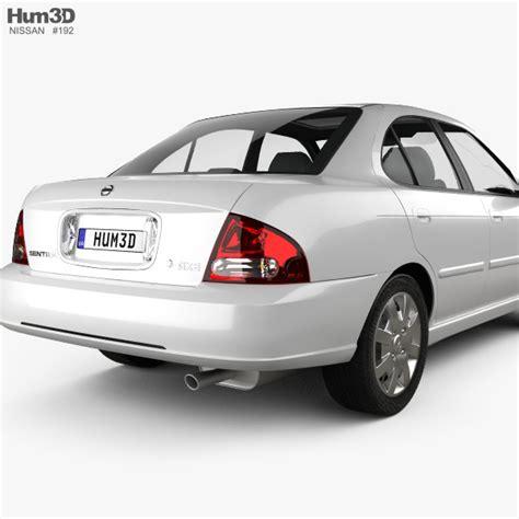 2001 nissan sentra gxe parts nissan sentra gxe 2001 3d model hum3d