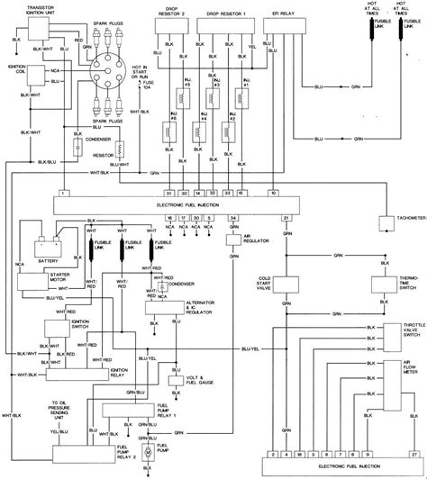 1983 nissan 280zx turbo wiring diagram 1983 free engine