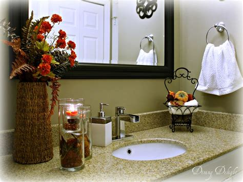 fall bathroom decor attractive decorating ideas diy for