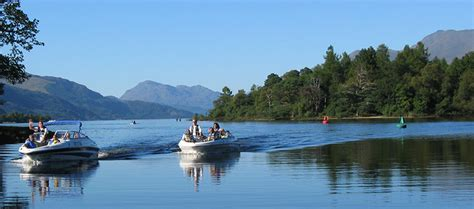 fishing boat hire on loch lomond speedboat tour on loch lomond