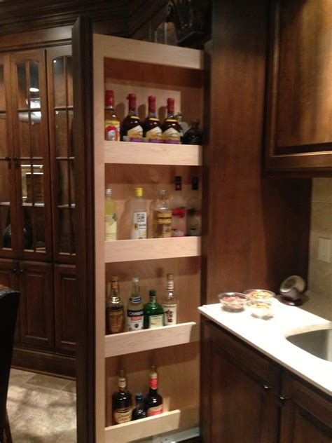 liquor cabinet kitchen contemporary with bar