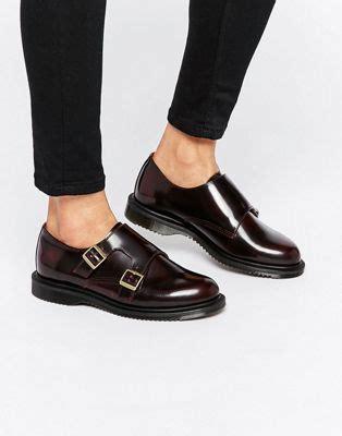 Docmart Black Shoes dr martens dr martens pandora monk stap flat shoes