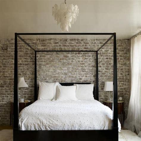 Brick Wall Bedroom Design Bedroom Brick Wall Design Ideas