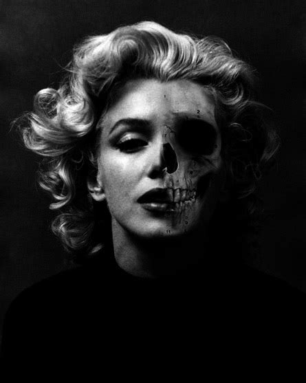 marilyn monroe with tattoos poster 10 marilyn skull posters