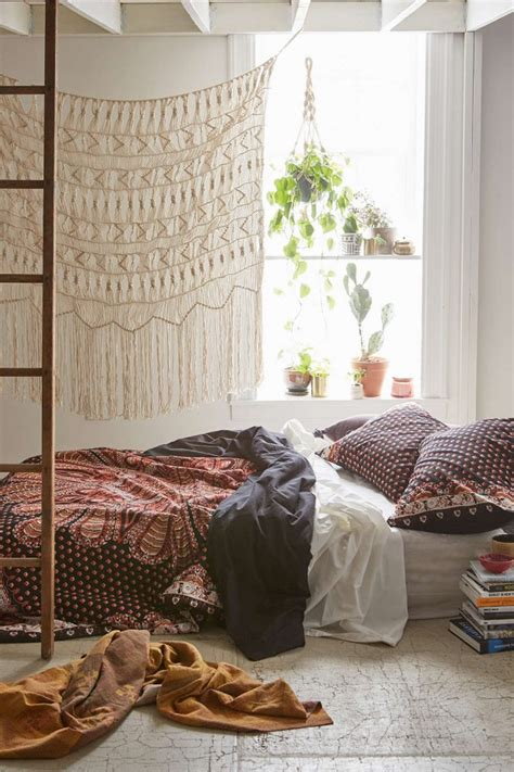 boho bedroom inspiration bed on floor low bed ideas on pinterest low beds