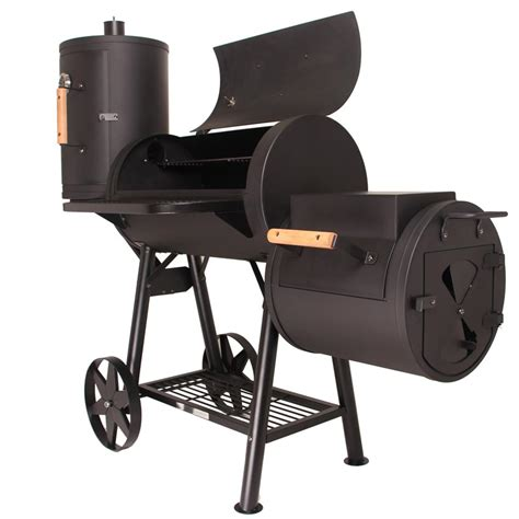Taino Xl Smoker by Taino 174 Massiver Smoker Bbq Grillwagen Holzkohle Grill Ca