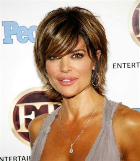 lisa rinna tutorial for her hair 30 short layered haircuts 2014 2015 latest bob