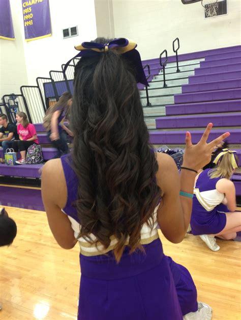 college cheerleading hairstyles best 25 college cheer hair ideas on pinterest college