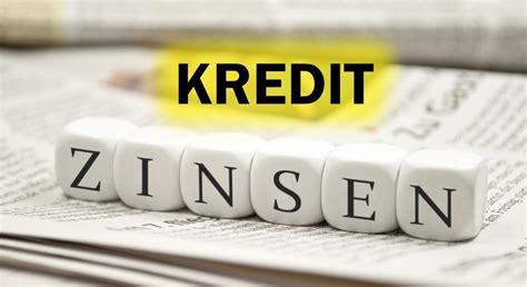 bank kredit zinsen aktuelle kredit zinsen