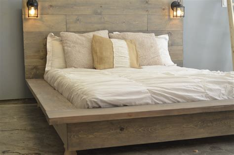 Bed Frame Wood For Sale Floating Wood Platform Bed Frame With Lighted