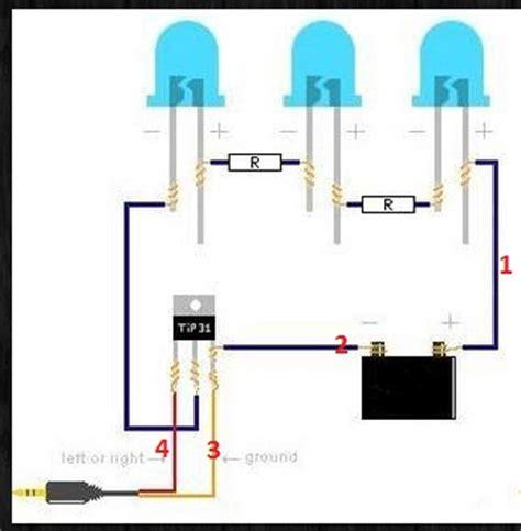 dioda w rytm muzyki dioda led migająca w rytm muzyki tip 31 elektroda pl