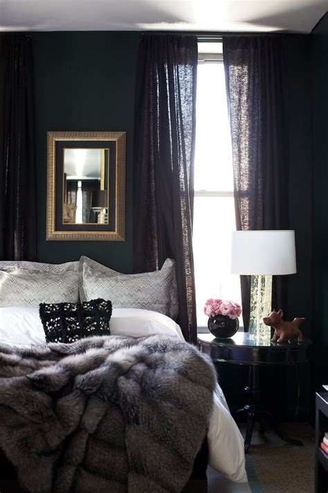 elegance luxury  dark bedroom designs master
