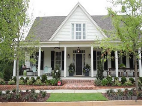 southern living farmhouse plans country southern house plans southern living house plans