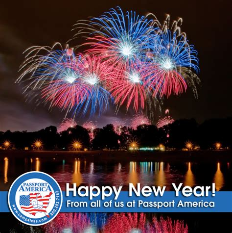 passport america site seers happy new year from all of us