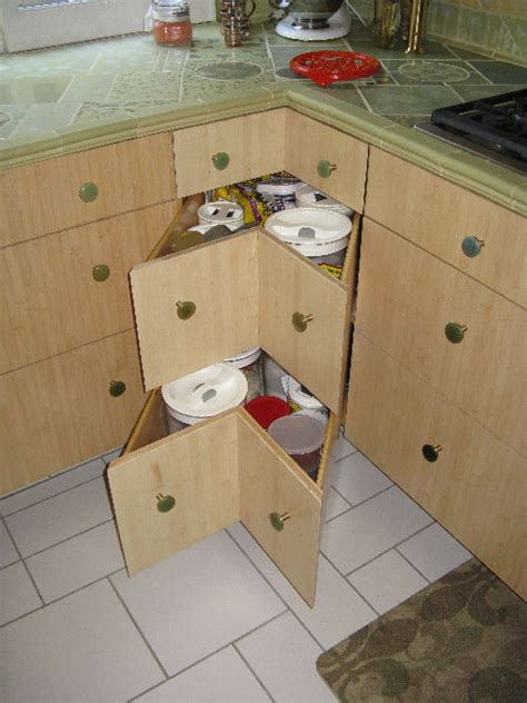 Lazy Susan With Drawers by Corner Drawers Instead Of Lazy Susan