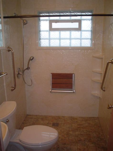 handicap accessible bathroom design best 25 roll in showers ideas on pinterest shower