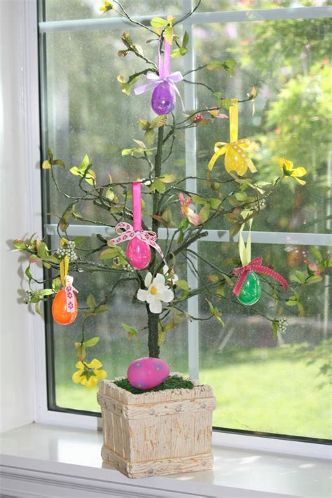 easter decoration easter eggs tree for indoor and