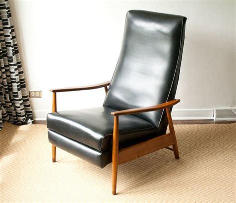 mid century modern reclining milo baughman recliner lounge chair mid century modern