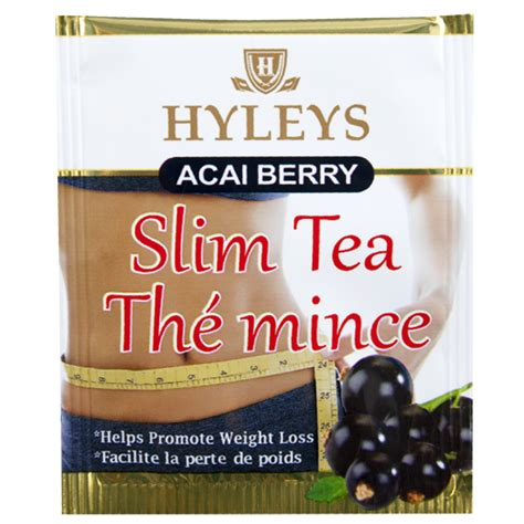 Slim Tea Detox Ingredients by Acai With Green Tea Superfoods In Hyleys Slim Tea