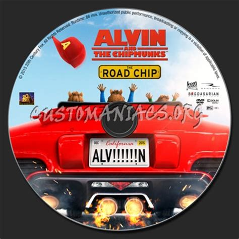 schip covers alvin and the chipmunks the road chip dvd label dvd
