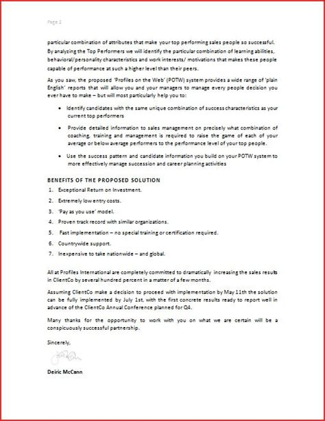Prepare Offer Letters Sle Business Letter
