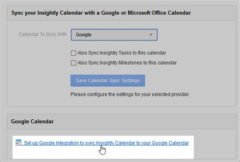 G Calendar Sync Syncing Insightly With Or Microsoft Exchange