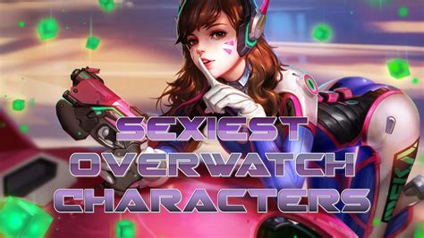 hot female overwatch characters sexiest overwatch characters