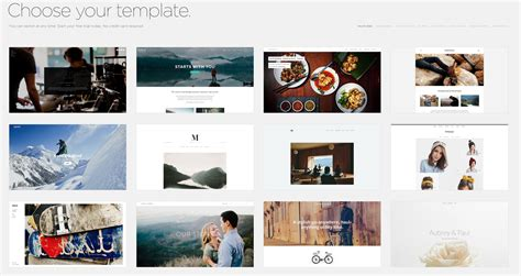 squarespace templates free squarespace for photographers pros and cons slr lounge