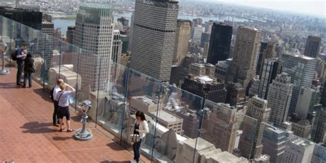 best observation decks nyc top of the rock observation deck new york city tourist