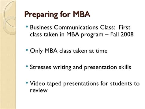 Ul Mba Program Review by An Integrated Approach To Teaching Pptx