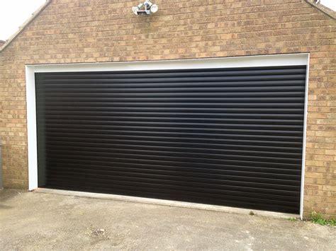 Black Garage by Black Roller Garage Door Wageuzi