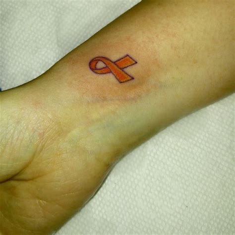leukemia ribbon tattoo best 25 leukemia ideas on breast