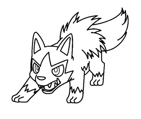 pokemon coloring pages poochyena how to draw pokemon poochenya