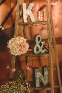Vintage fall barn wedding ideas vintage latter for wedding display jpg