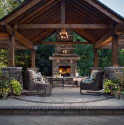 Patio Designs Pictures Best 25 Outdoor Fireplace Patio Ideas On Diy