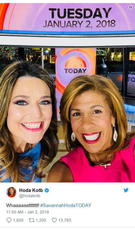 hoda kotb today show contract hoda kotb officially replaces matt lauer on today show