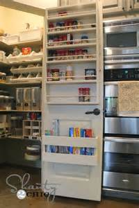 pantry door storage house projects
