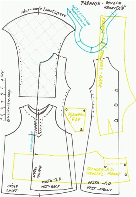 pattern allowances pdf nptel ken clothes with no seam allowence doll clothing