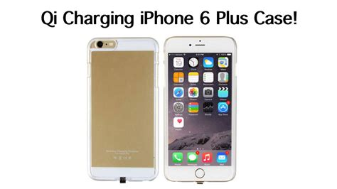 qi wireless charging iphone  pluss  case youtube