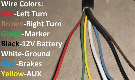 trailer  plug   blade rv connector light plug